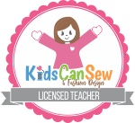 Kids can sew logo