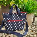Spotty handbag